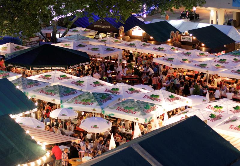 19.08. - 04.09.16  31. Oechsle-Fest, Innenstadt, Pforzheim